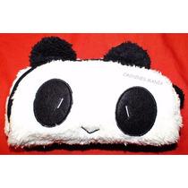 Portacosmeticos Cartuchera Animal Oso Panda De Peluche Suave