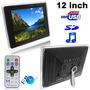 Portaretrato Digital Led 12 1080p Multifuncion Mp3 / Video