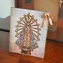 Portarretrato Acrilico Con Imagen Virgen De Lujan