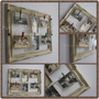 Marco Vintage Para Fotos Con Broches 30x40 Cm