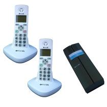 Kit 2 Teléfonos + Portero Inalambrico Vicom 3622 Frente