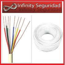 Cable De Portero / Alarma X 40mts 2 Pares + Neutro