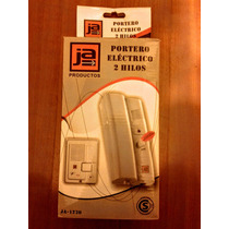 Kit Portero Electrico Ja 1 Frente Y 1 Telefono C/ Cerradura