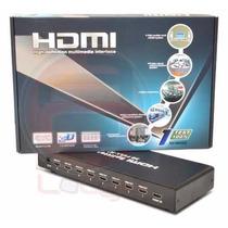 Amplificador Splitter Divisor Hdmi V1.8 Full Hd 3d 8 Salidas
