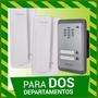 Portero Electrico Multifamiliar Hyundai Hdr 2 Departamentos