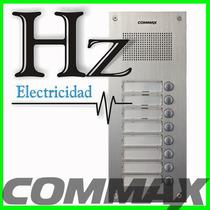 Frente Portero Electrico Commax Edificio 8 Pulsadores Dr-8um