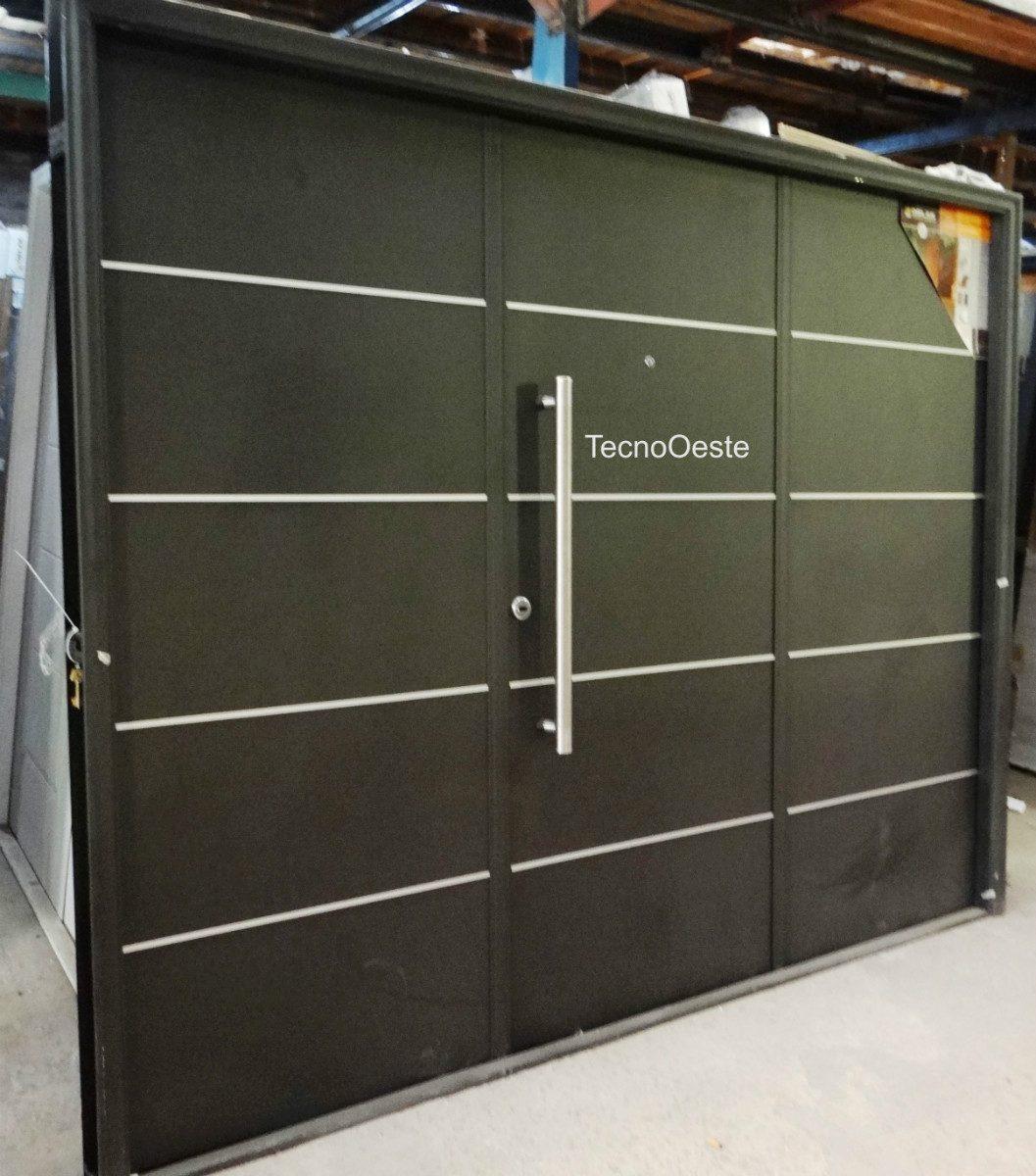 Portones para garaje colocacion de portones de aluminio a for Portones para garage