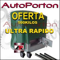 Kit Automatizacion Porton Corredizo Motor Automático Speed !