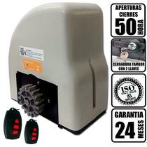 Motor Porton Corredizo Garantia Extendida Completo Programad