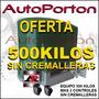 Motor 500 K Sin Cremalleras Automatizacion Porton Corredizo