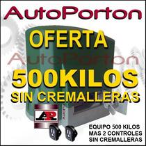 Motor Speed 500 K Sin Cremalleras Automatización Corredizo