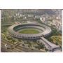Postal Brasil Río De Janeiro Estadio Maracaná Vista Aerea