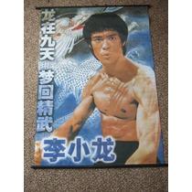 Poster De Tela Brce Lee 1,00 Mts X 0;75 Mts Zona Devoto