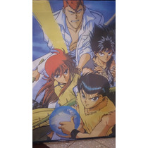 Poster De Tela Yuyu Hakusho 1,00 Mts X 0;75 Mts Zona Devoto