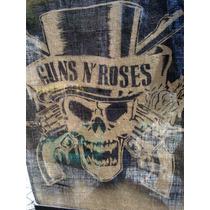 Lamina De Arpillera Guns N Roses