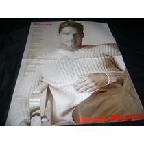 Ricky Martin Poster 40 X 54
