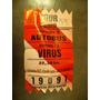 Boleto Gigante De Shows De Virus Y Autobus