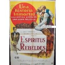 Afiche Espíritus Rebeldes John Howard Davies - Newton 1951