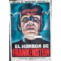 Afiche El Horror De Frankenstein Ralph Bates 1970