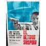 Afiche El Ultimo Suspiro Lino Ventura, Paul Meurisse 1966