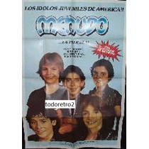 Afiche Menudo - Miguel Cancel, Ricky Melendez - 1982