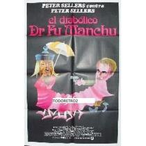 Afiche El Diabólico Dr. Fu Manchu Peter Sellers 1980