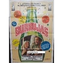 Afiche Burbujas Michael Caine, Valerie Perrine 1985