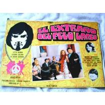 Afiche Cine Rock Lobby Card Extraño De Pelo Largo Original