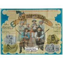 Afiche Los Irrompibles - Graciela Alfano Jorge Martinez 1975