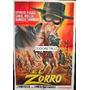 Afiche El Zorro Spiros Focas Daniela Vargas 1969