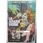 Afiche La Araña Verde Adrian Hoven, Renate Ewert 1960