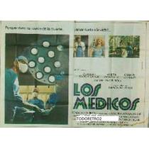 Afiche Los Medicos Claudio García Satur, Marta González 1978