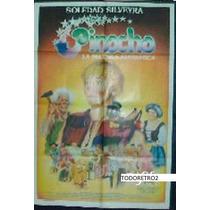 Afiche Pinocho Soledad Silveyra, Gianni Lunadei 1986
