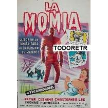Afiche La Momia Peter Cushing, Christopher Lee 1959