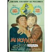 Afiche Mi Novia El Alberto Olmedo, Susana Gimenez 1975