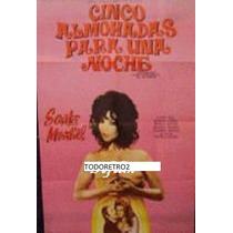 Afiche Cinco Almohadas Para Una Noche Sara Montiel 1974