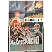 Afiche Año Cero, Guerra En El Espacio John Richardson 1977