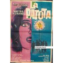 Afiche La Patota Mirtha Legrand Daniel Tinayre 1960
