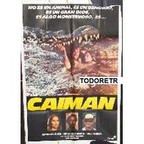 Afiche Caiman - Barbara Bach, Claudio Cassinelli - 1972