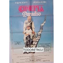 Afiche Cinema Paradiso - Philippe Noiret Jacques Perrin 1988