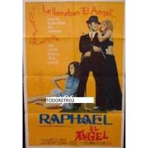 Afiche El Angel Raphael, Rafael Alonso, David Areu 1969