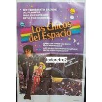 Afiche Los Chicos Del Espacio - Dibujo Animado - 1980