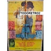 Afiche Alta Infidelidad Charles Aznavour 1964