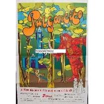 Afiche Pulgarcito Marie Laforêt, Jean-pierre Marielle 1972