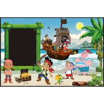 Banner Infantiles-jake El Pirata-murales-cumpleaños