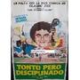 Afiche Tonto Pero Disciplinado Jacques Villeret 1979
