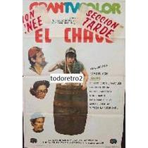 Afiche El Chavo - Version 1 - Roberto Gomez Bolaños - 1973