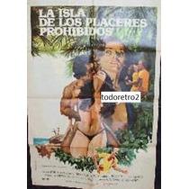 Afiche La Isla De Los Placeres Prohibidos Neide Ribeiro 1979