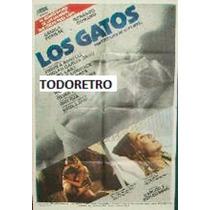 Afiche Los Gatos Camila Perisse Gerardo Romano Lavie 1985