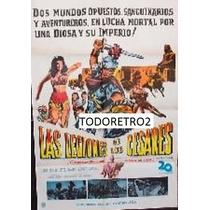 Afiche Las Legiones De Los Cesares - Linda Cristal - 1960